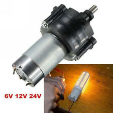 20W Electric Motor Wind Power DC Generator Hand Dynamo Hydraulic Test 6V 12V 24V