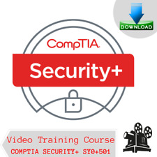 Comptia Security Plus + SY0-501 Video Training Course 11GB DOWNLOAD + Free Bonus