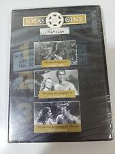 JOYAS DEL CINE TARZAN DVD 14 DE LAS FIERAS LAS NUEVAS AVENTURAS COMPAÑEROS NUEVA