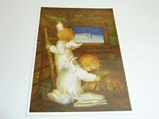 "vintage blank 70` greeting cards  Spötl""angels christmas time""1312"""