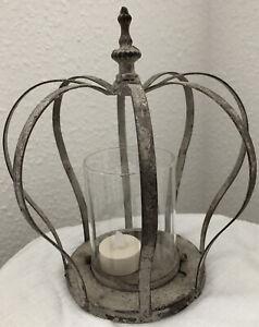 Deko Krone Windlicht-/Teelicht-Shabby Vintage Landhaus!!