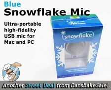 Blue Snowflake Portable USB Mic Microphone for Mac PC - Brand New in Sealed Box