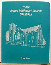 Traer United Methodist Church Cookbook, Traer, Iowa; Vinyl Covers, 1989.