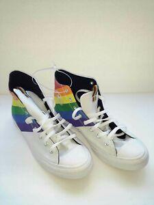 Converse Chuck Taylor All Star High Top Pride LGBTQ Mens Size 12