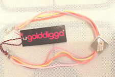 GOLDDIGGA CORDED LEATHER CHOKER RRP: £26.99