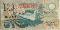 SEYCHELLES - 10 RUPEES - Billet de banque (TTB)