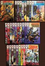 Shadowman #0-27 Complete. Valiant 1992.  Includes #19 Aerosmith app! Hi Grade!