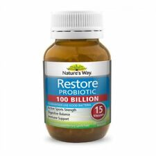NATURE'S WAY RESTORE PROBIOTIC 100 BILLION (30 CAPS)