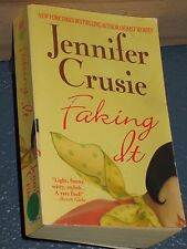 Faking It by Jennifer Crusie *FREE SHIPPING *  0312983824