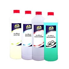 Bluing solution kit (4 x 250 ml) - Cold / immersion bluing concentrate