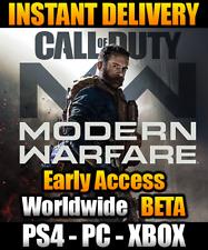 Call of Duty: Modern Warfare Beta-Early Access Code (PS4 / PC / Xbox) COD MW