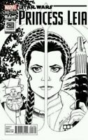 Star Wars Princess Leia 1 Exclusive Amanda Conner BAM B&W Variant Dodson New NM