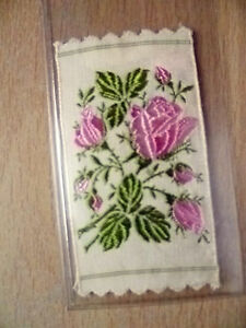 Original Kensitas/Wix Silk Colour Variety Flower- MOSS ROSE (apx. 6.5x3.8cm))
