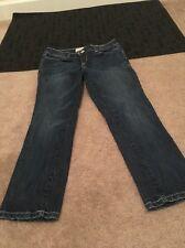Aeropostale Womens Blue Denim Jeans Pants Sz 1/2 Clothes