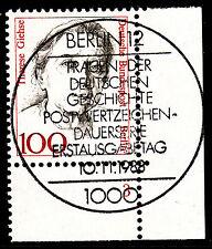 32) Berlin 100 Pf Frauen 825 FN 3 Formnummer Ecke 4 ESST Berlin 12 mit Gummi