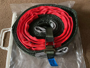 Land Rover Wolf 7XD WMIK British Army Tow Strap Rope 7 Ton New Bagged