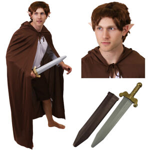 MYTHICAL MAN COSTUME MIDDLE EARTH SCHOOL BOOK WEEK DAY CHARACTER FANCY DRESS