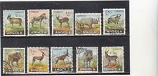 ANGOLA STAMPS ANIMALS  (1953)   Used