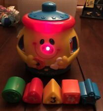 1999 Fisher Price Cookie Jar Shape Sorter Toy Laugh Learning