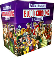 Horrible Histories Blood Curdling Collection 20 Books Box Children Gift Pack NEW
