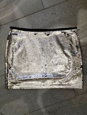 Zara Sequin Mini Skirt Size Medium