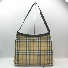 Burberry London Tote Bag  Beiges PVC 1709582