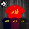 T-Shirt Robot Evolution The Big Bang Theory Inspired Tee Sheldon Color