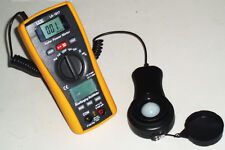 CEM LA-1017 Sun Light  Solar Energy Sunlight Power Meter w/ DMM Multi-meter 2in1