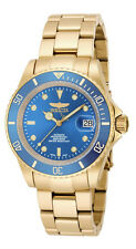 Invicta Pro Diver 18507 Men's Round teal Automatic Analog Date Gold Tone Watch