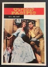 Vintage 1958 Topps TV WESTERNS card #44 GAIL AND BART- combined ship