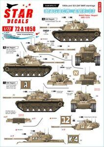 Star Decals 1/72 ISRAELI AFVs  #3 SIX DAY WAR M48 MAGACH & AMX-13