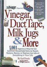 Yankee Magazine's Vinegar, Duct Tape, Milk Jugs and More (1999, Hardcover)