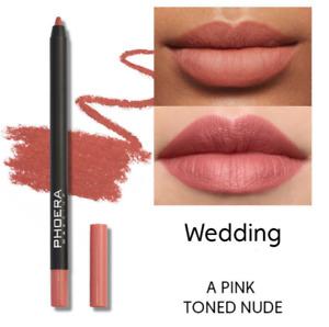 PHOERA Lip Liner lipstick Color Matte Pencil Waterproof professional - wedding