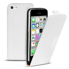 Flip Up Case for Apple iPhone 5c Slim Cover Shockproof PU Leather Bag Shell