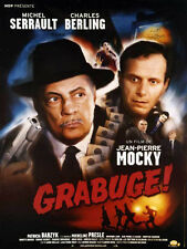 Affiche 120x160cm GRABUGE ! 2005 Mocky - Michel Serrault, Charles Berling BE