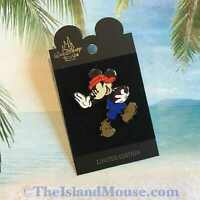 Rare Disney LE Football Mickey Orange Blue Surprise Release Pin (ND:8186)