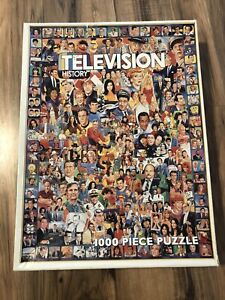 White Mountain Television History Jigsaw Puzzle TV Show 1000 Piece 1 Missing