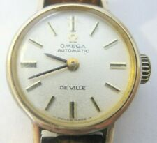 Women's 1969 VTG Omega Deville Automatic 24 Jewels Dial Watch