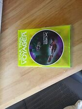4 STAR TREK VOYAGER DVDs  #'s  1,2,6,7 no case for # 2