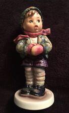 Ex Ed. Vintage 5� Tmk6 #421 Goebel Hummel Figurine Collector's Club #6 It'S Cold