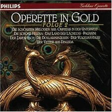 Operette in Gold 2 (Philips, 1970-75) Hermann Christian Polster, Ivan Reb.. [CD]