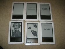 Lot of 6 - Barnes & Noble Nook 1st Edition