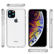 For iPhone 11 Pro Max Shockproof Slim Hybrid Clear Phone Case Bumper Cover