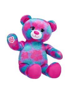 New 2019 Build a Bear Tropical Fun Bear BABW NWT Unstuffed