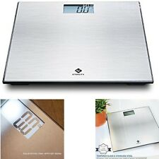 Body Weighing Scale Etekcity Stainless Steel Platform 400 Lbs Capacity Auto Off