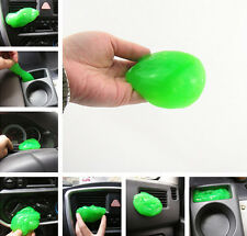 Cleaner Glue/Gel/Gum Air Conditioning Vent Panels Dust Remove Plastic For Audi
