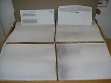 "Double Window Envelopes, 4-1/8""x 9-1/2"", 2200/BX, White"