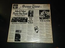 SEALED JOHN LENNON PLASTIC ONO BAND RECORD SOME TIME IN NEW YORK 1972 SVBB 3392