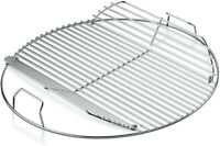 """Grill Cooking Grate 13.7/"""" Round Steel Grid Replacement Heavy Duty Fire Part BBQ"""