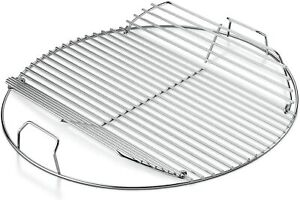 """Grill Cooking Grate 22"""" Steel Rack Round Grid BBQ Part Replacement Heavy Duty"""